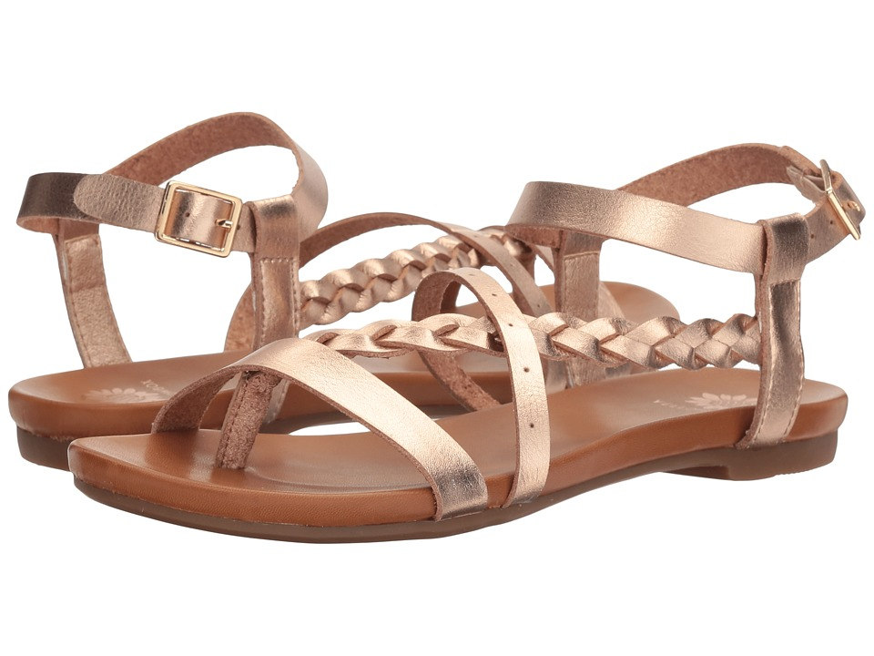 Yellow Box - Vice (Rose Gold) Women's Dress Sandals