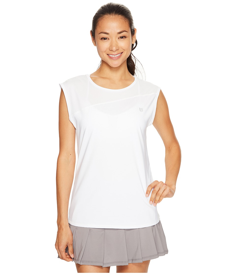 Eleven by Venus Williams Datura ISO Tank Top (White) Women