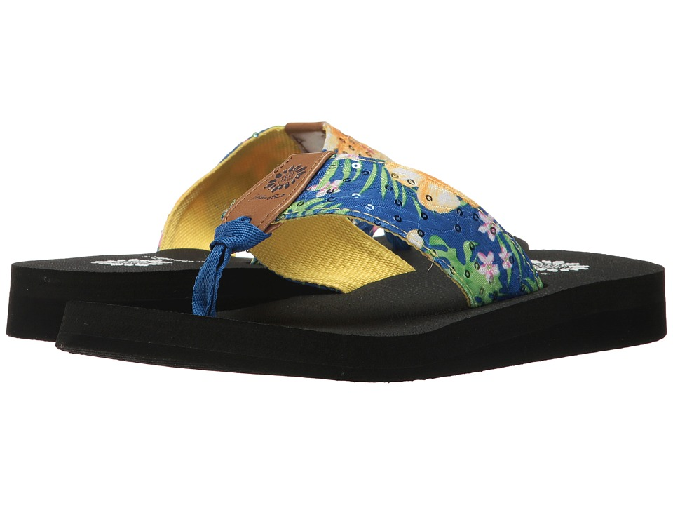 Yellow Box - Macnee (Blue Multi) Women's Sandals