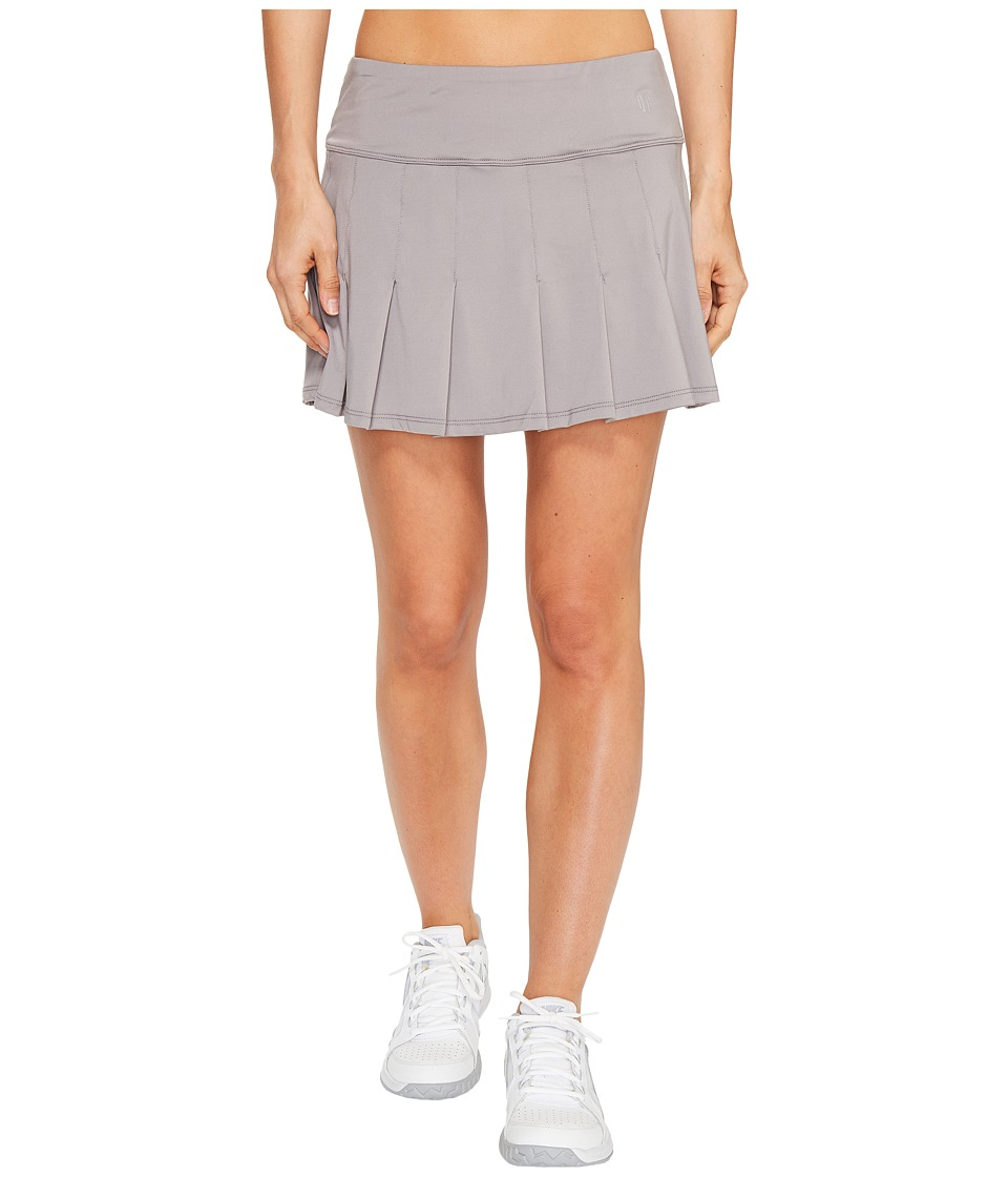 Eleven by Venus Williams - Datura 13 Flutter Skirt (Frost Grey) Women's Skort