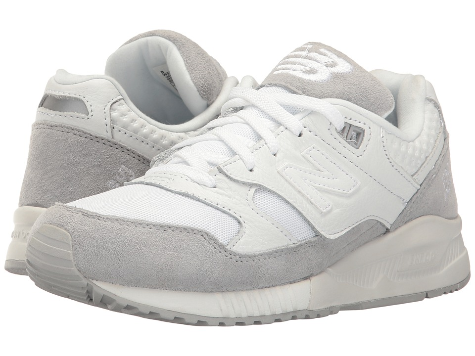 New Balance Classics - W530 (White/Silver Mink) Women's Classic Shoes
