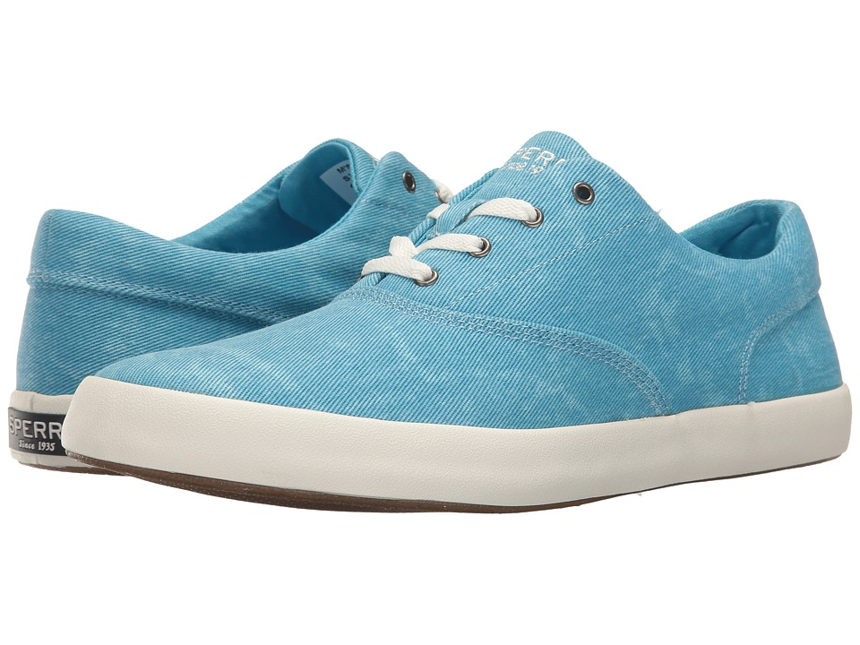 Sperry - Wahoo CVO Sunbleached (Blue) Men's Lace up casual Shoes