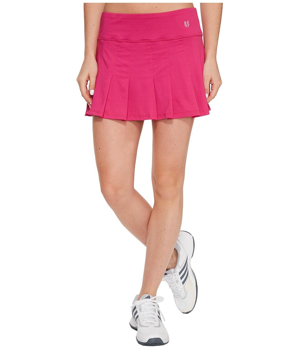 Eleven by Venus Williams Core 13 Flutter Skirt (Eleven Berry) Women