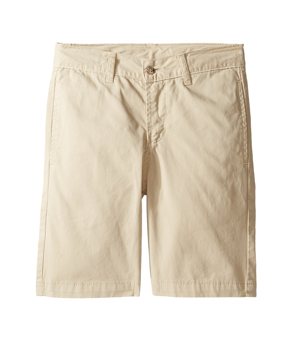 Oscar de la Renta Childrenswear - Cotton Twill Classic Shorts (Toddler/Little Kids/Big Kids) (Beige) Boy's Shorts