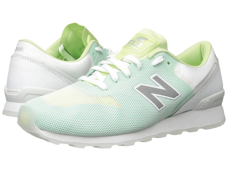 New Balance Classics - WL696 (Blade Green/White) Women's Classic Shoes