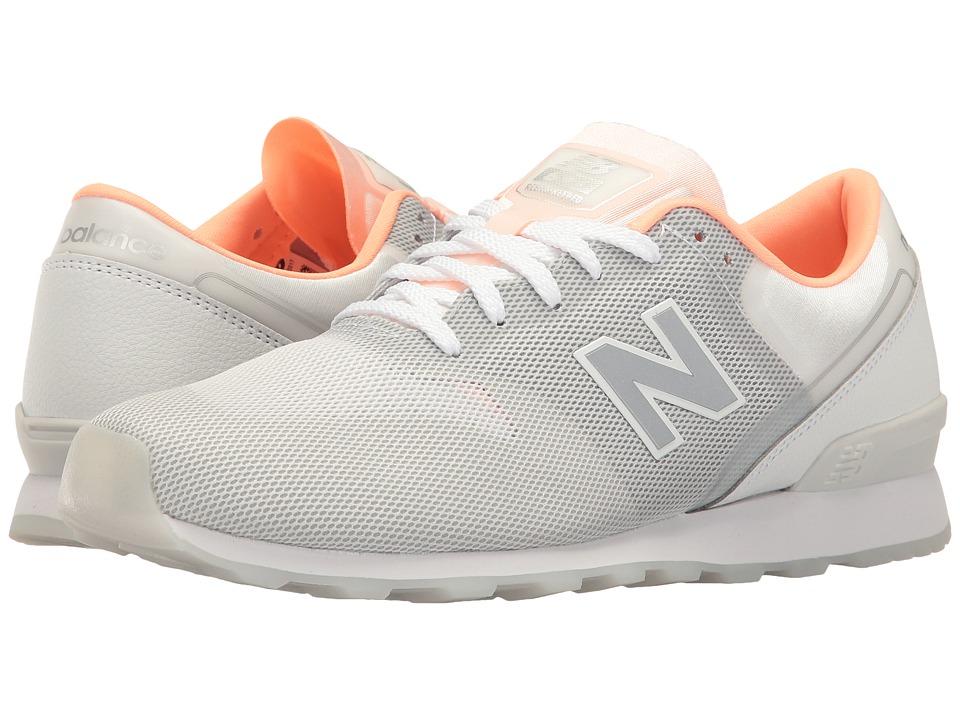 New Balance Classics - WL696 (Gunmetal/White) Women's Classic Shoes
