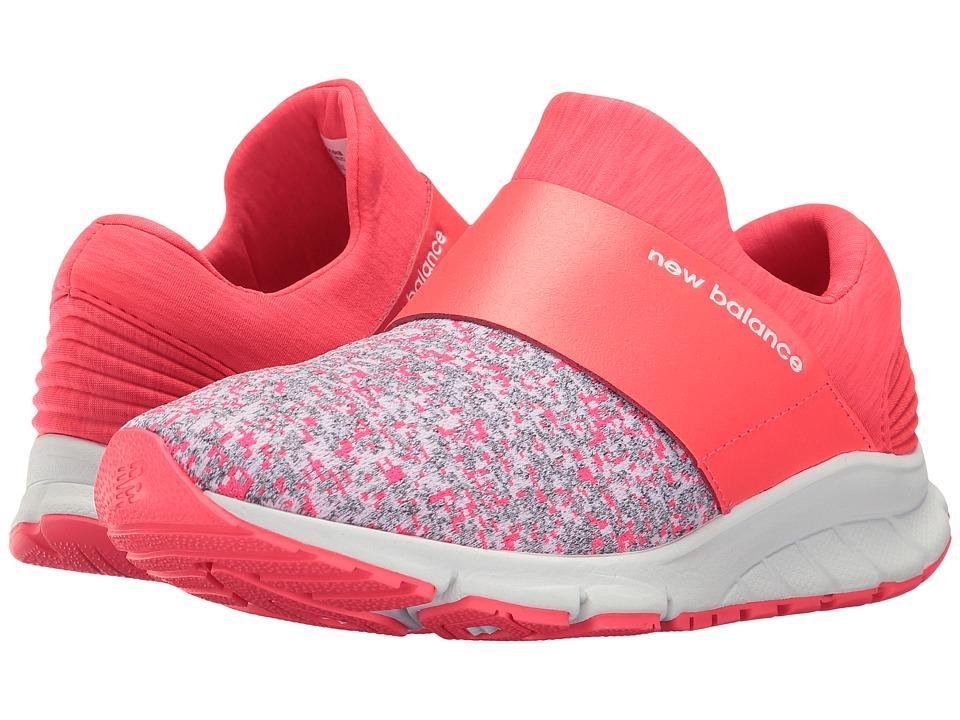New Balance - Rush Slip-On (Bright Cherry/White) Women's Shoes