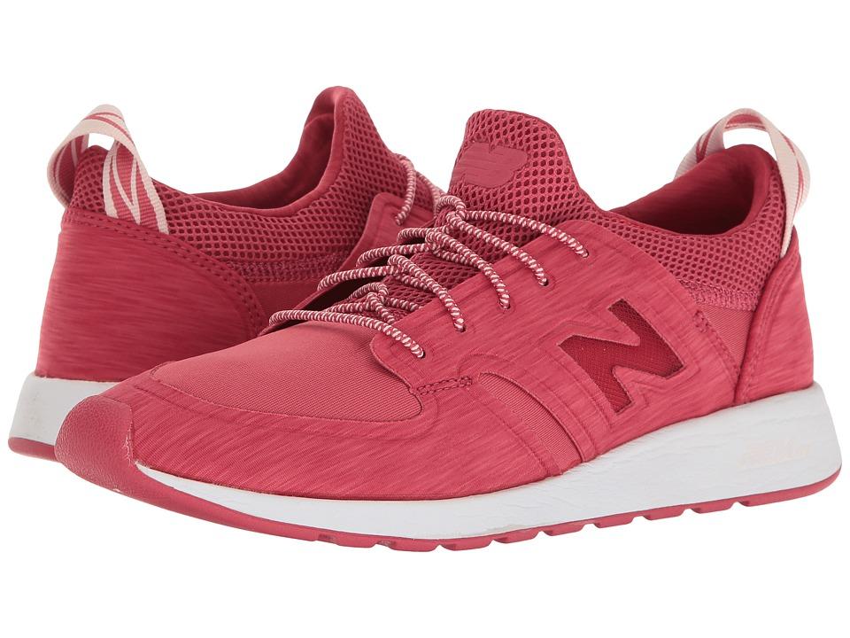 New Balance Classics - WRL420 Slip-On (Radish/White) Women's Shoes