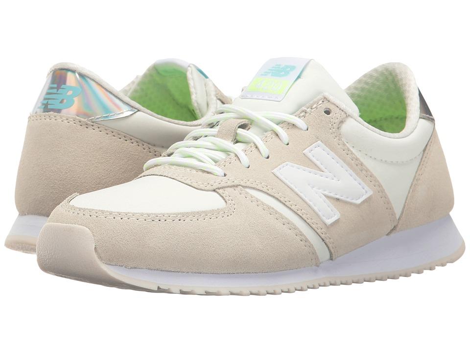 New Balance Classics - WL420 (Sea Salt/White) Women's Classic Shoes