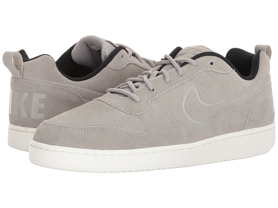 Nike - Court Borough Low Premium (Cobblestone/Cobblestone/Black) Men's Shoes