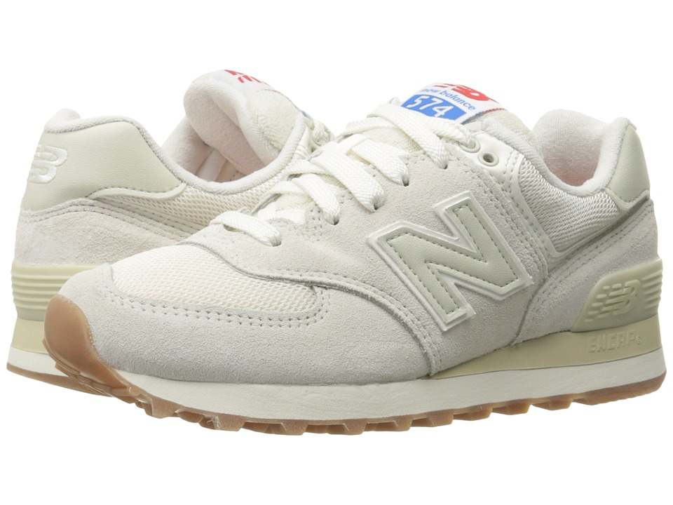 New Balance - WL574 - Retro Sport (Sea Salt/Powder) Women's Shoes