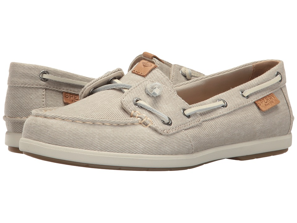Sperry Coil Ivy Water Canvas (Stone) Women