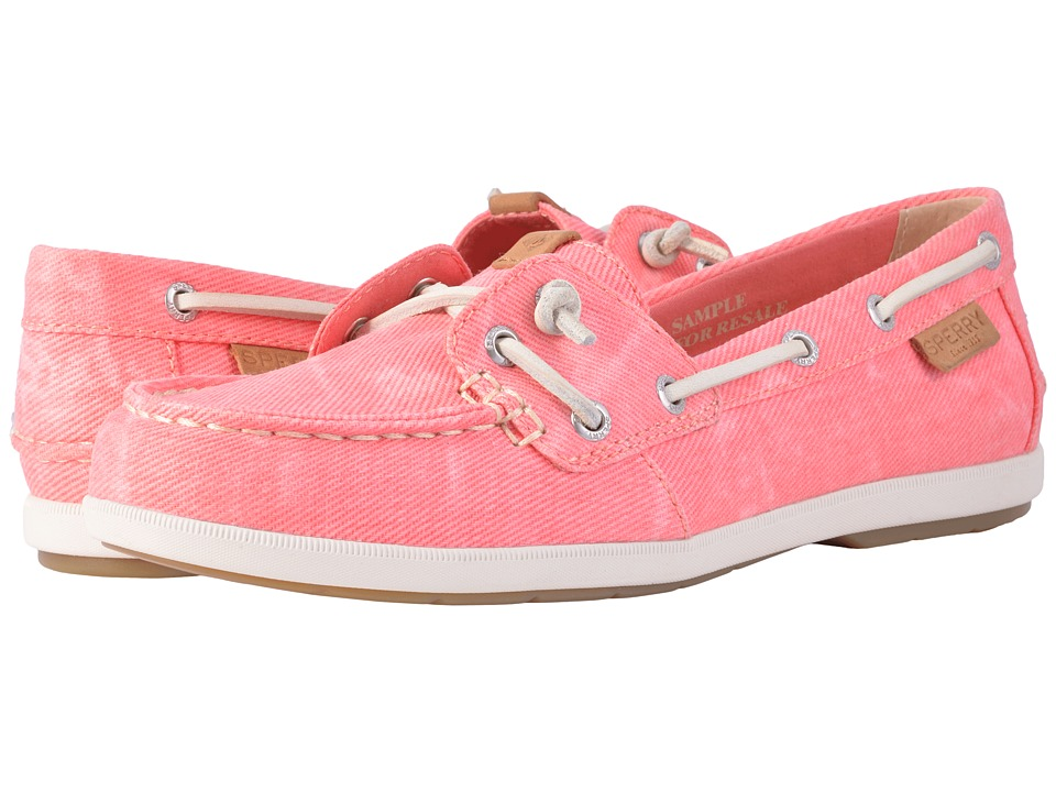 Sperry Coil Ivy Water Canvas (Pink) Women