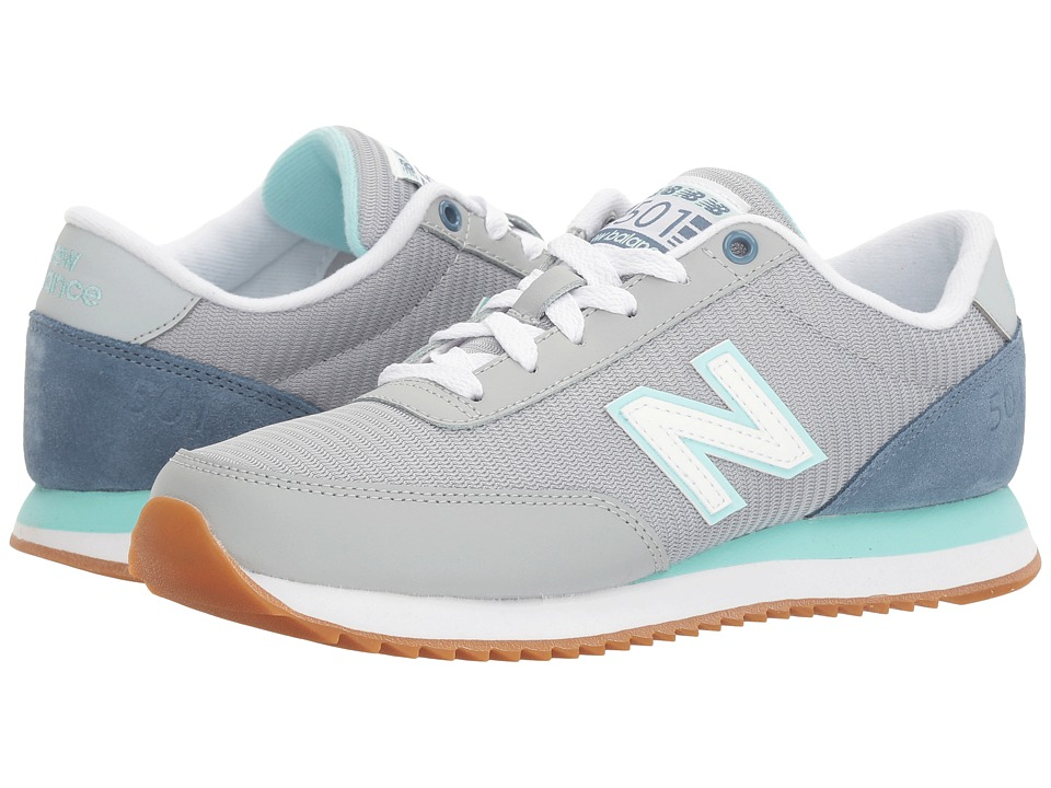 New Balance Classics - WZ501 (Silver Mink/Deep Porcelain Blue) Women's Shoes