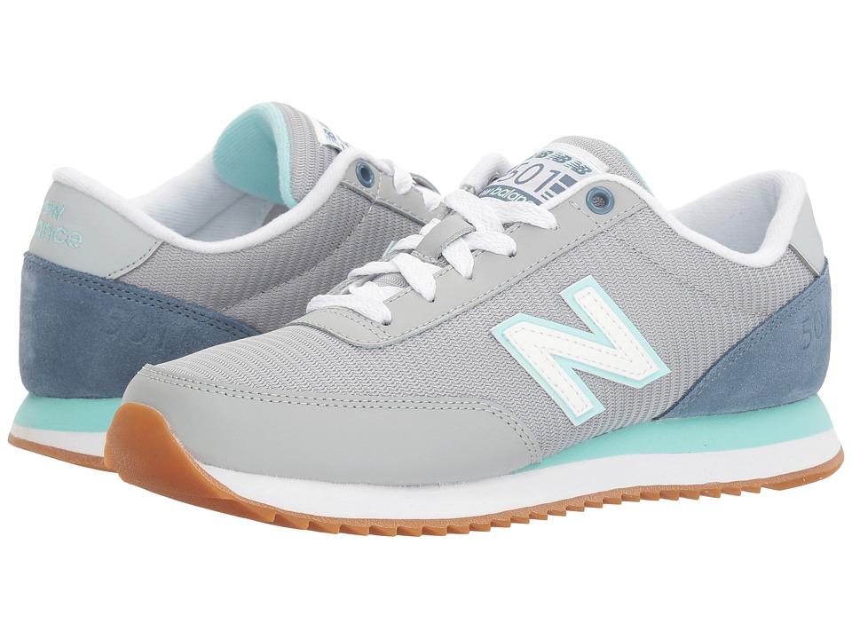 New Balance Classics - WZ501 (Silver Mink/Deep Porcelain Blue) Women's Shoes