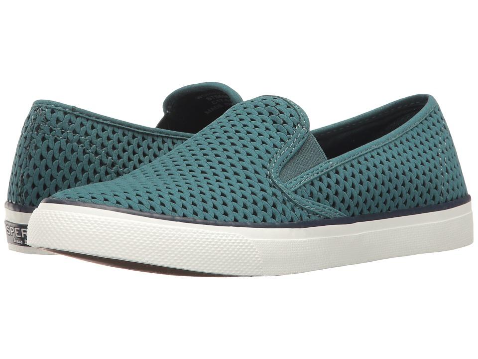 Sperry - Seaside Scale Emboss (Mediterranean) Women's Slip on Shoes
