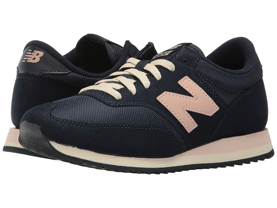 New Balance - CW620 (Navy/Pink) Women's Classic Shoes