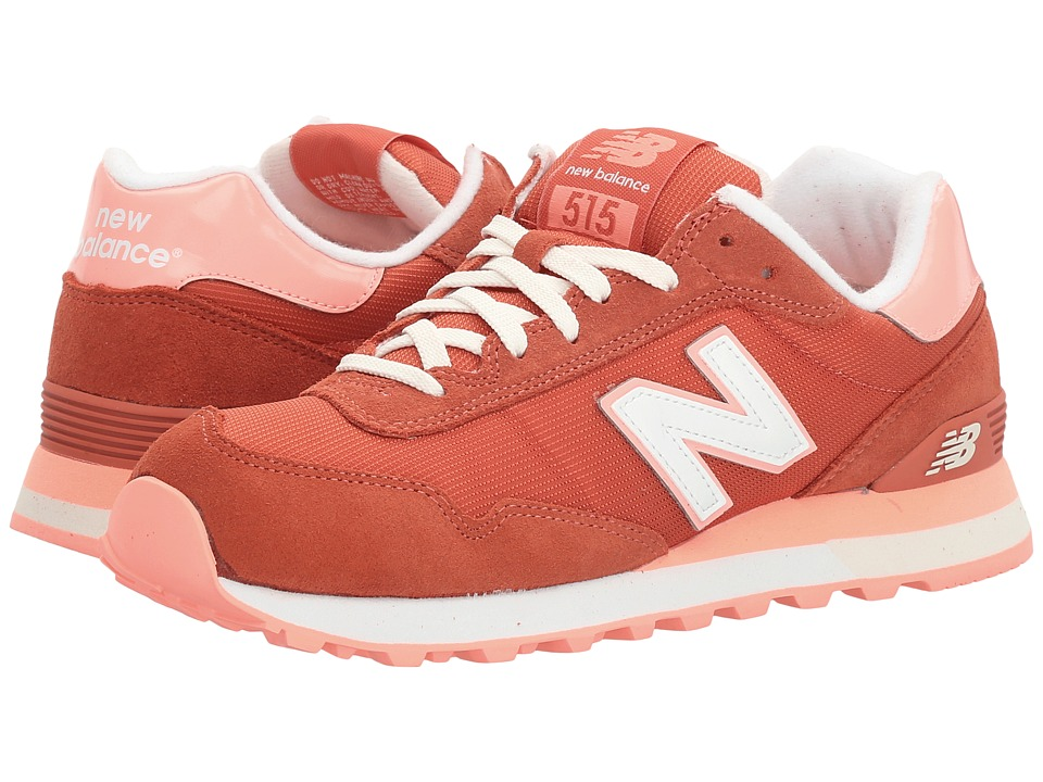 New Balance Classics - WL515 (Pink Clay/Bleached Sunshine) Women's Classic Shoes