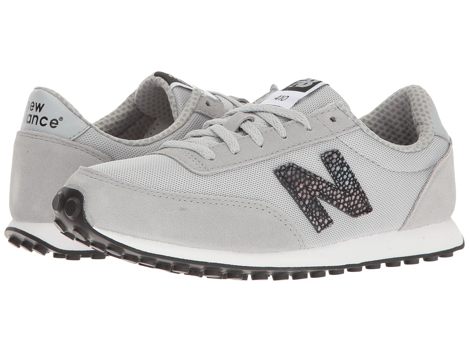New Balance Classics - WL410 (Silver Mink/White) Women's Classic Shoes