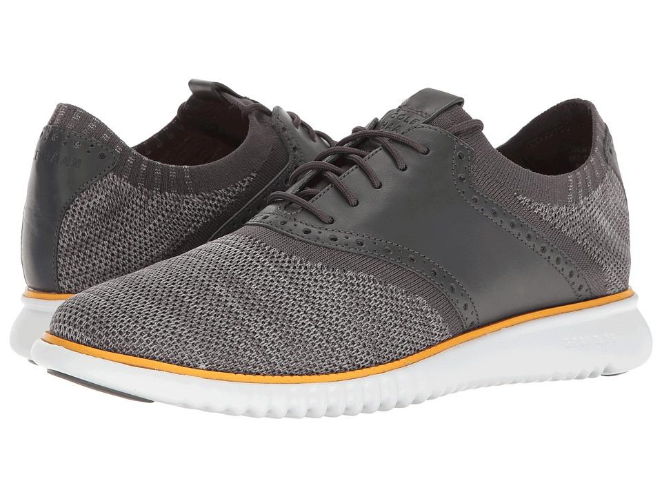 Cole Haan - 2.Zerogrand Packable Saddle-Knit (Magnet Knit/Sunglow/Optic White) Men's Shoes