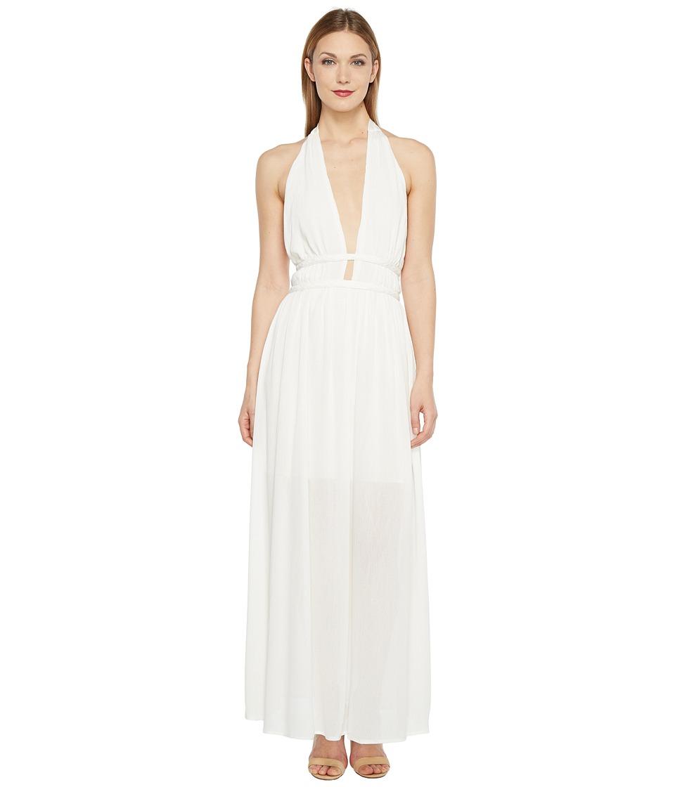 Brigitte Bailey - Leila Maxi Dress with Braided Waist (Cream) Women's Dress