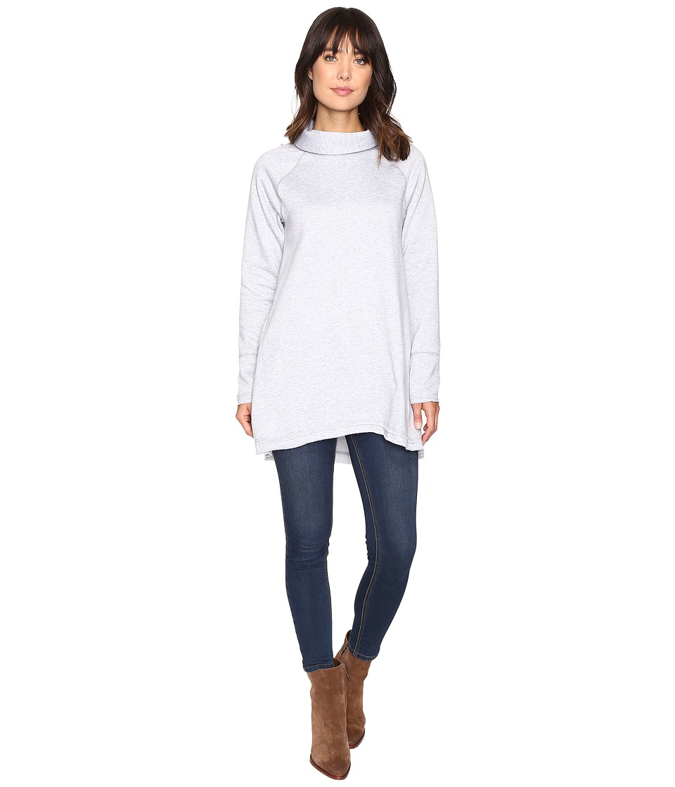 Brigitte Bailey - Astrela Long Sleeve Tunic (Heather Grey) Women's Dress