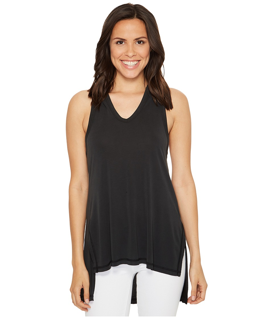 Culture Phit - Flavia Sleeveless Top with Hood (Black) Women's Sleeveless