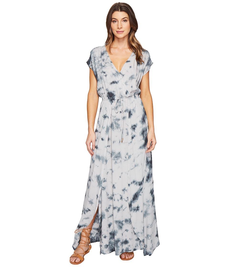 Culture Phit - Farica Tie-Dye Maxi Dress (Light Grey) Women's Dress
