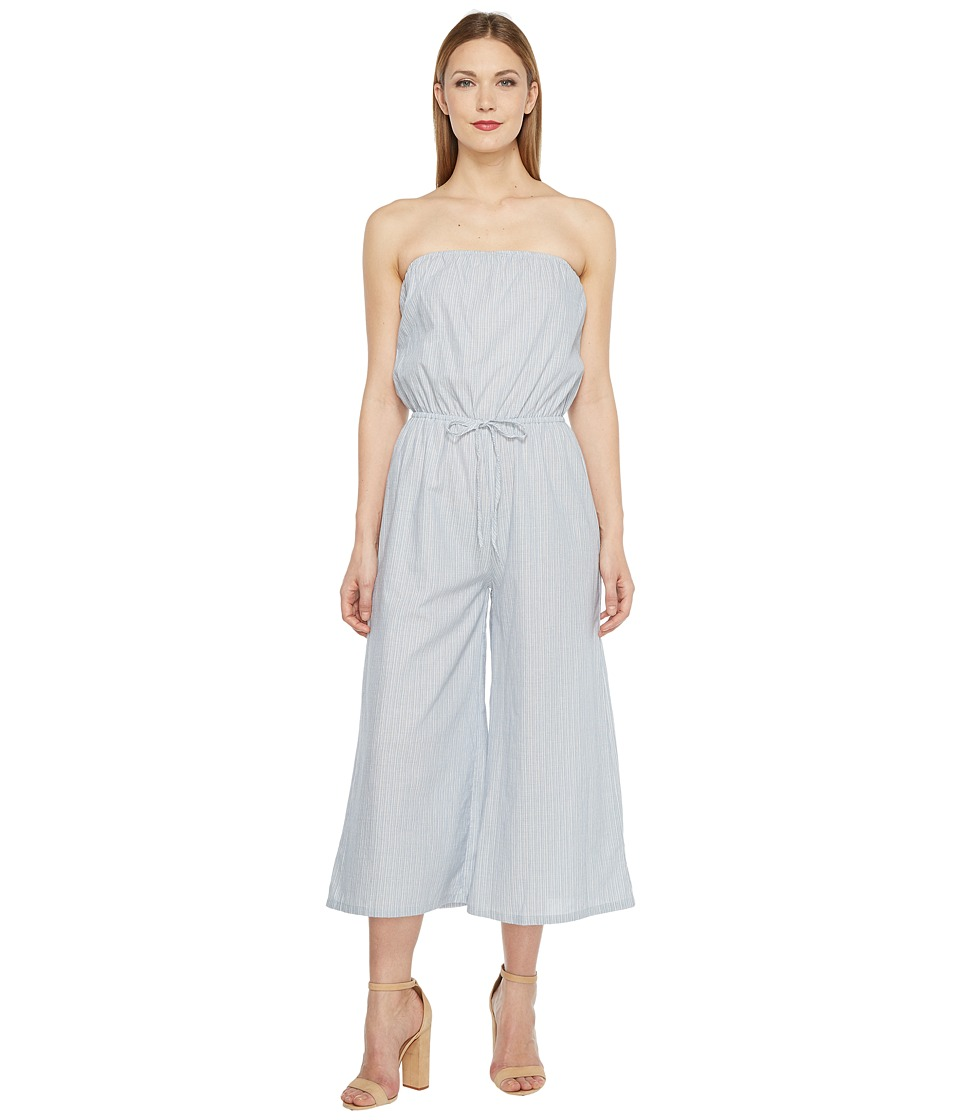 Brigitte Bailey - Kiley Strapless Jumper (Blue) Women's Jumpsuit & Rompers One Piece