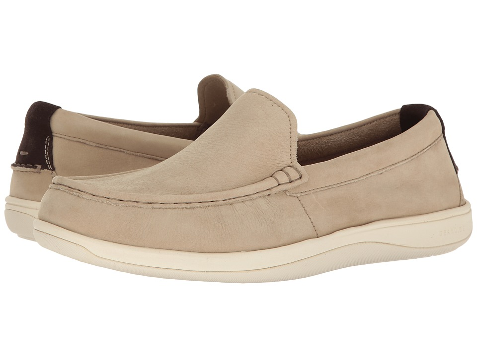 Cole Haan - Boothbay Slip-On Loafer (Barley Nubuck) Men's Slip on Shoes