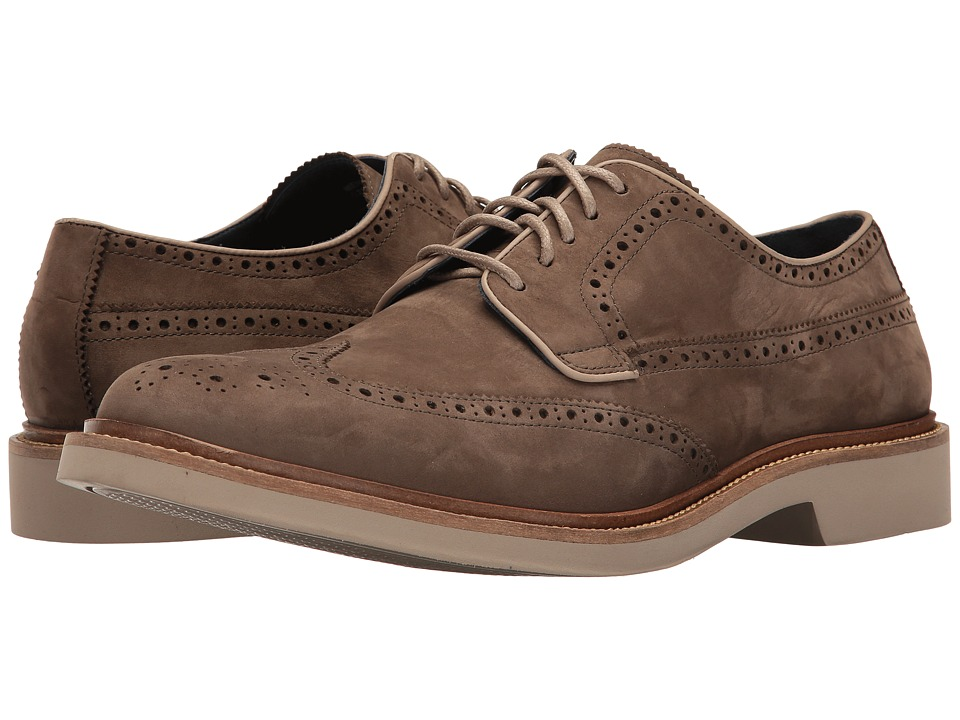 Cole Haan Briscoe Wing Oxford (Sapor Nubuck) Men's Lace up casual Shoes