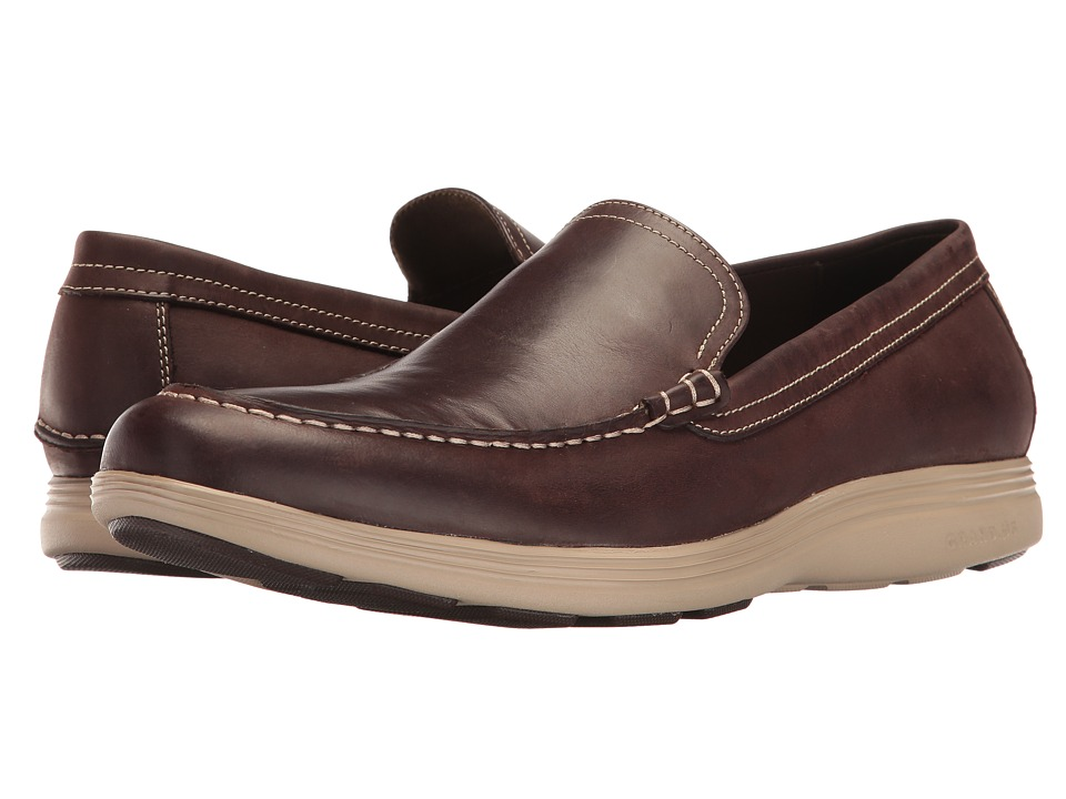 Cole Haan - Grand Tour Venetian (Java Leather/Cobblestone) Men's Shoes