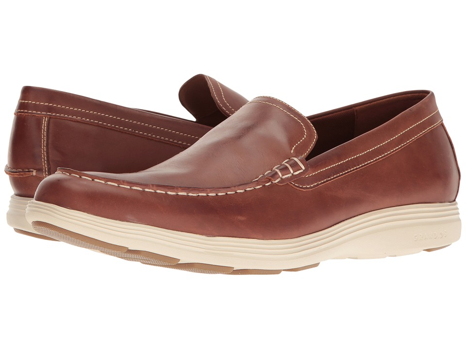 Cole Haan - Grand Tour Venetian (Woodbury Leather/Fog) Men's Shoes