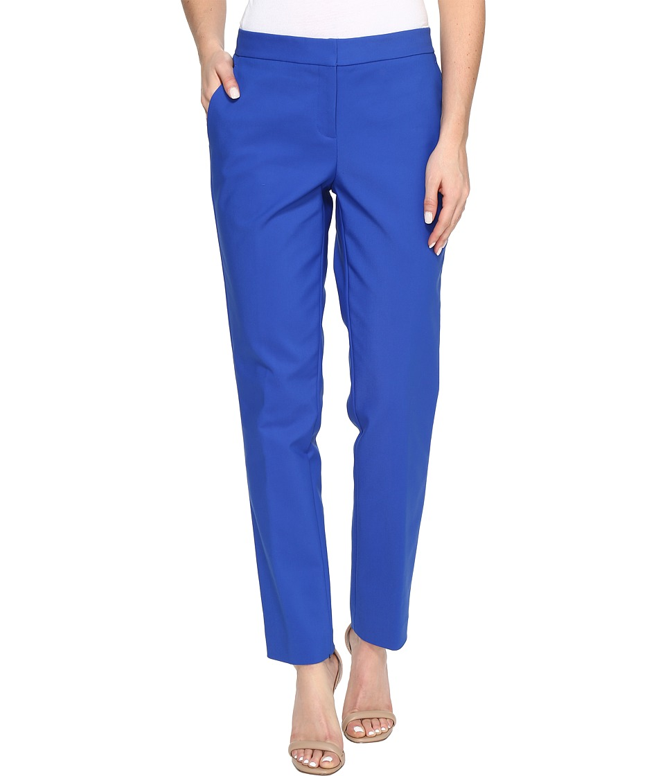 Vince Camuto - Front Zip Ankle Pants (Core Blue) Women's Casual Pants