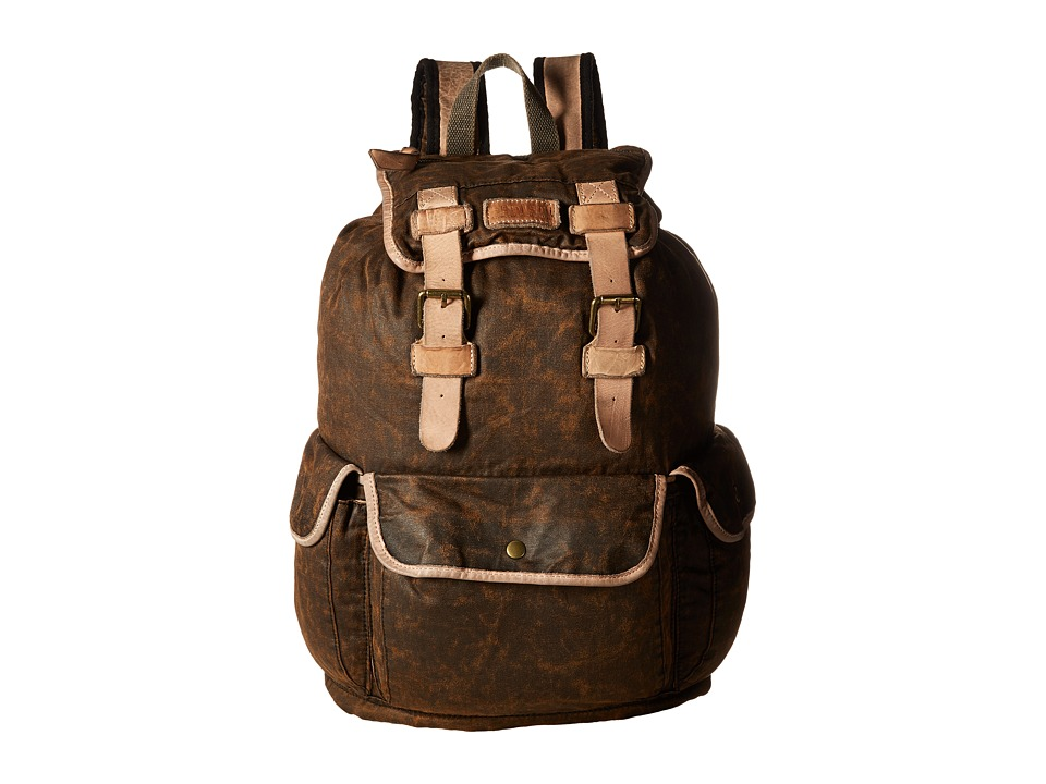 Bed Stu - Stuart (Black Oilslick) Bags
