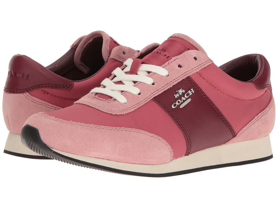 COACH - Raylen (Rouge/Pink) Women's Lace up casual Shoes
