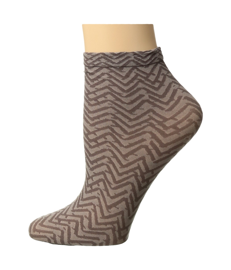 Falke - Congo Anklet (Chocolate) Women's Crew Cut Socks Shoes