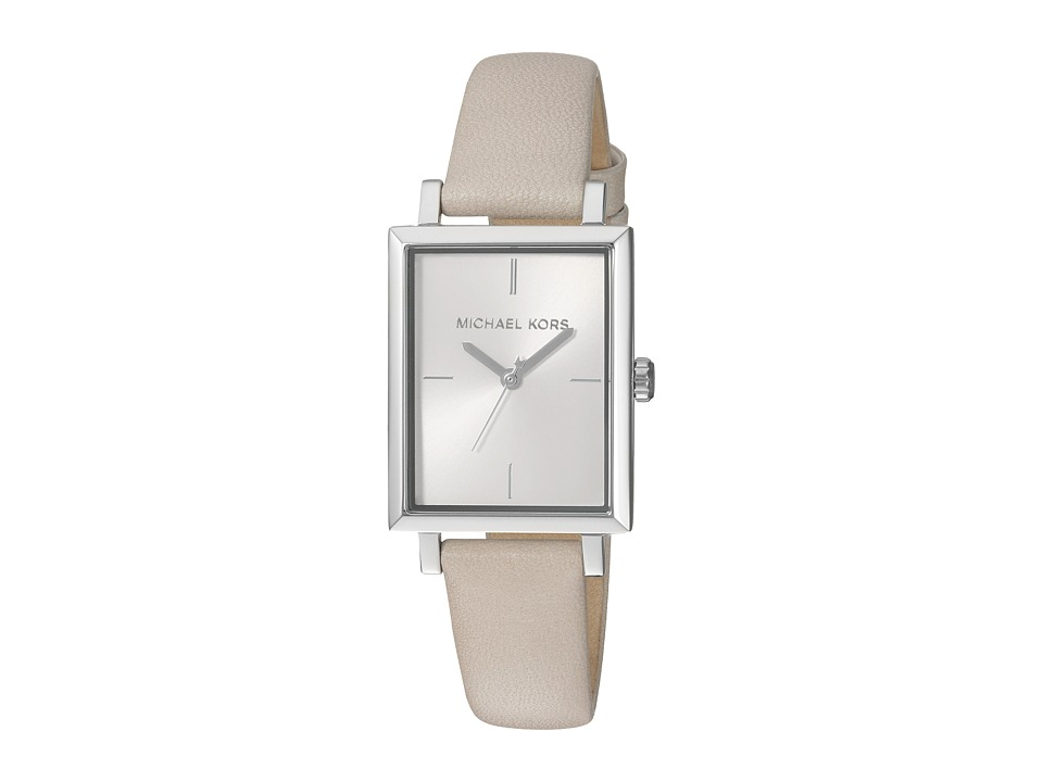 Michael Kors - MK2598 (Silver/Taupe) Watches