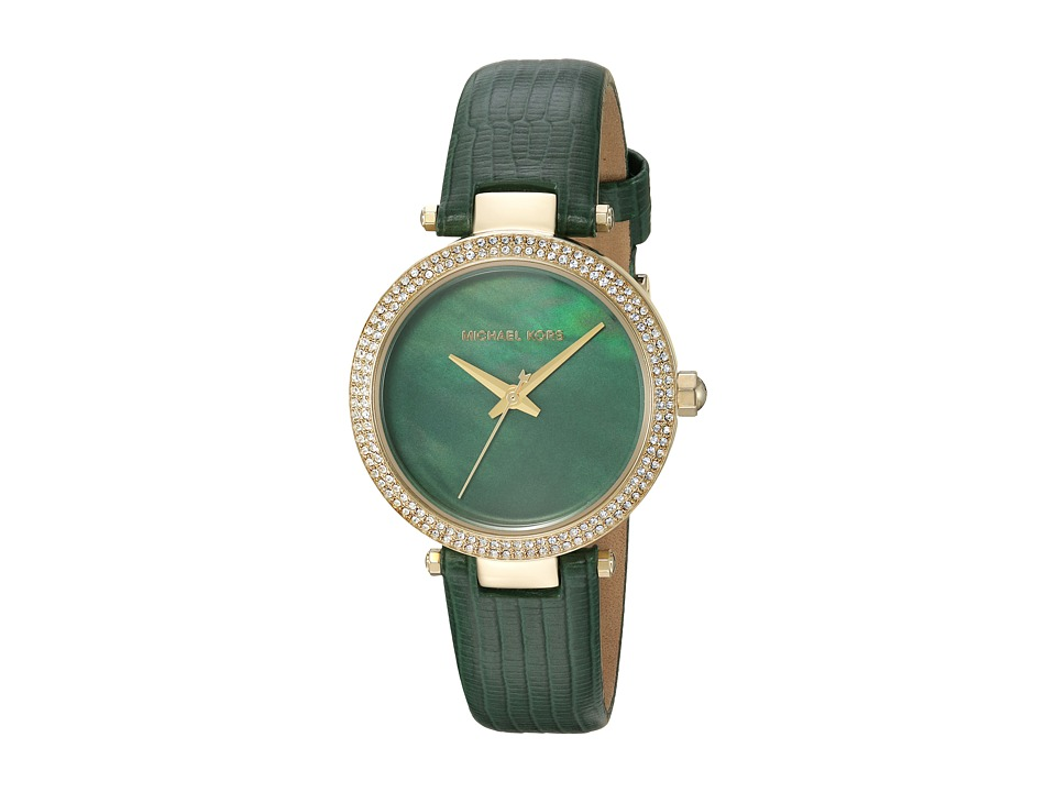 Michael Kors - MK2592 (Gold/Green) Watches