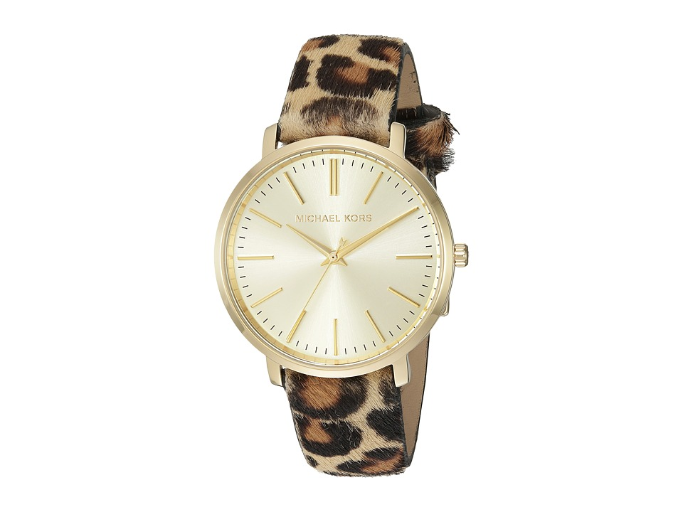 Michael Kors - MK2604 (Silver/Leopard) Watches