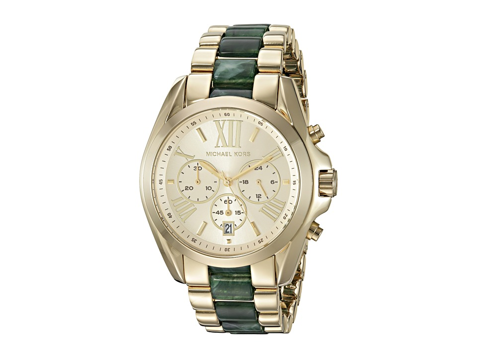 Michael Kors - MK6397 (Green/Gold) Watches