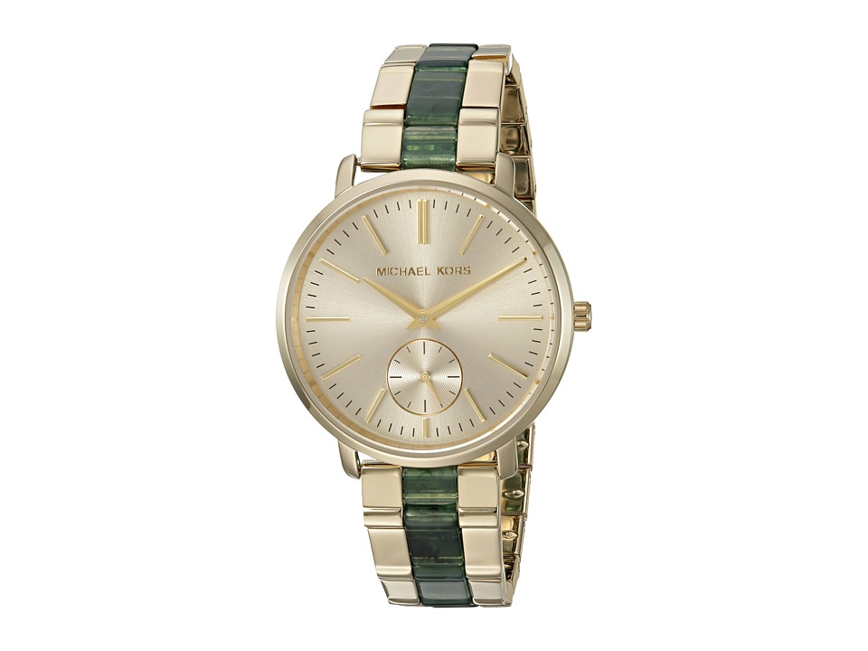 Michael Kors - MK3556 (Green/Gold) Watches