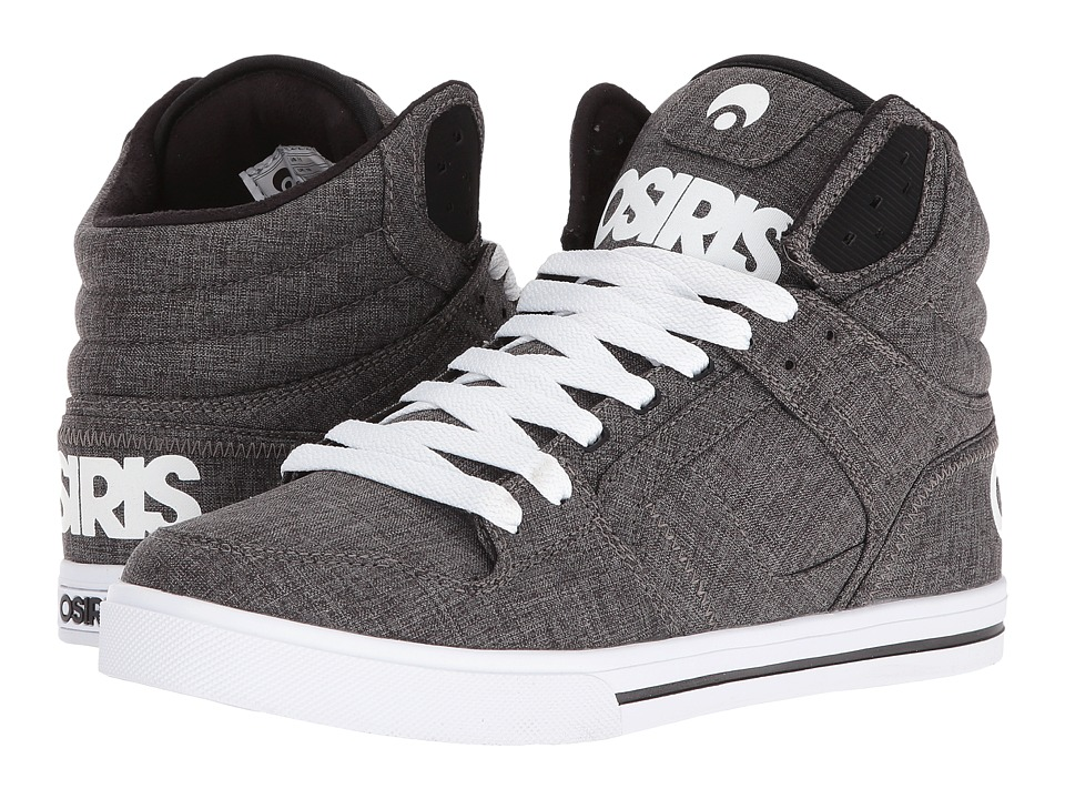 Osiris - Clone (Black/White/Salt) Men's Skate Shoes