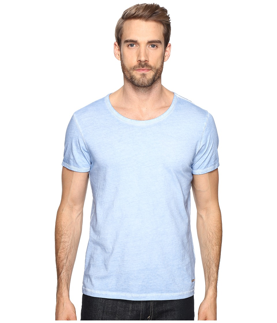 BOSS Orange - Tour T-Shirt (Light Pastel/Blue) Men's T Shirt