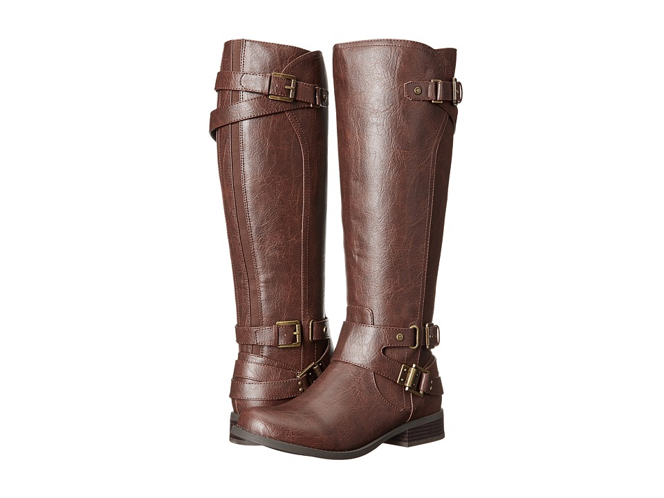 G by GUESS - Hatter (Dark Brown/Dark Brown Luxemborg) Women's Boots