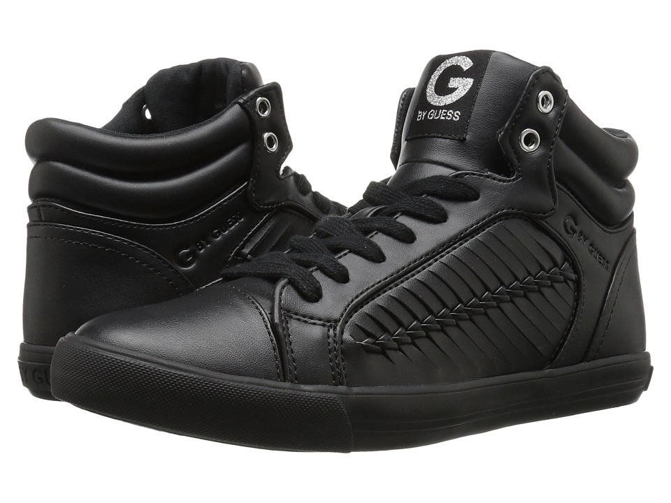 G by GUESS - Olisa (Black Nappa PU) Women's Lace up casual Shoes