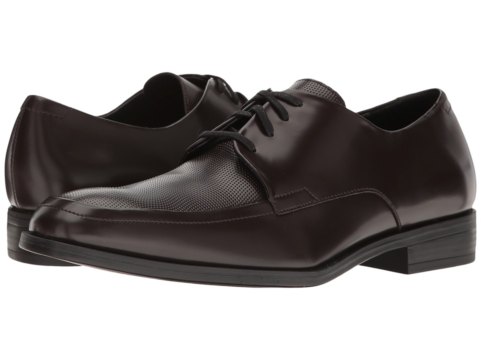 Calvin Klein - Draven (Dark Brown) Men's Shoes