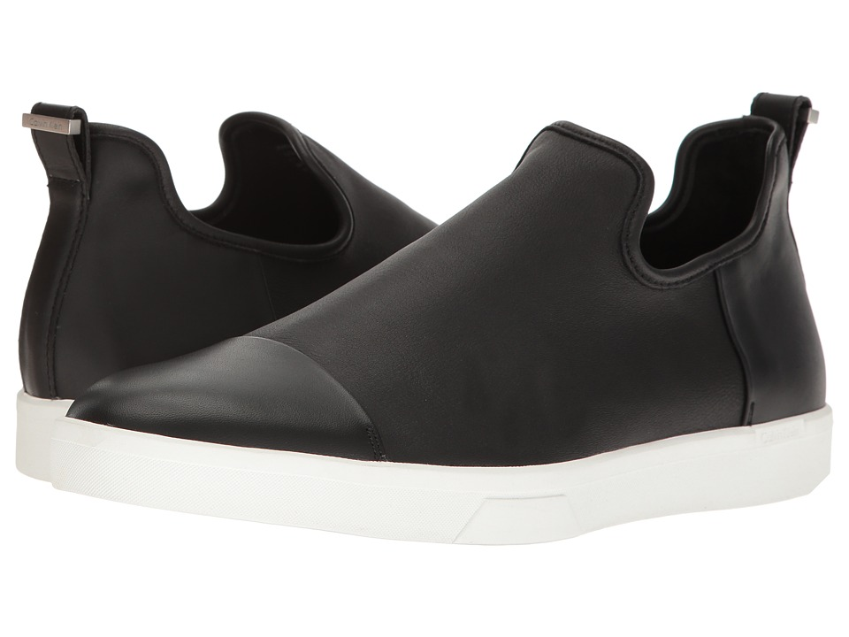 Calvin Klein - Innes (Black Nappa) Men's Slip on Shoes