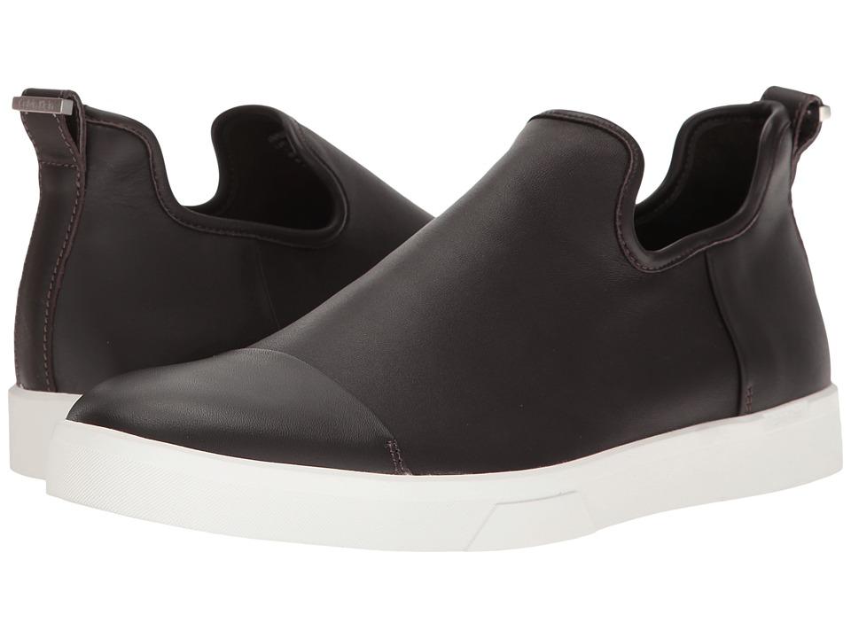 Calvin Klein - Innes (Brown Nappa) Men's Slip on Shoes
