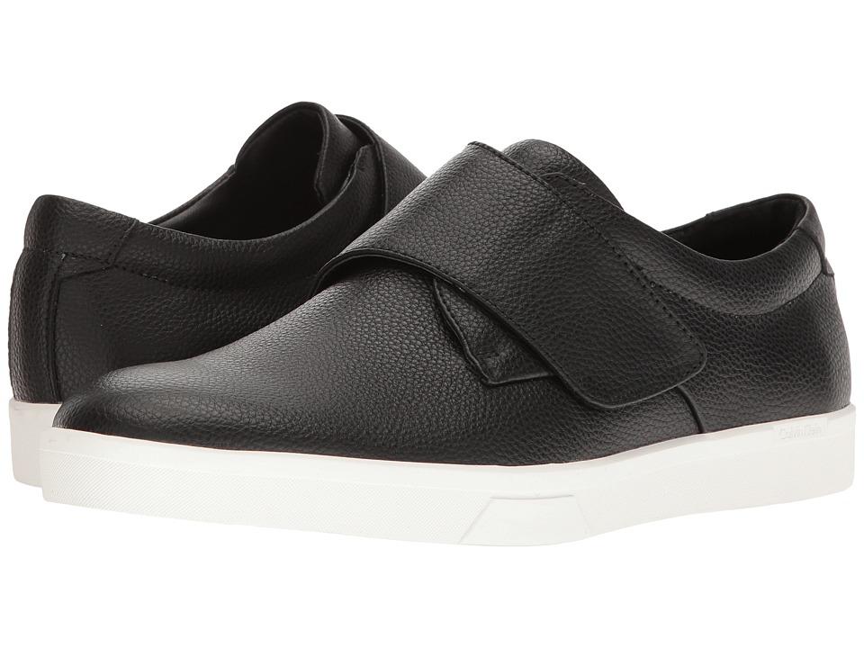 Calvin Klein Iman (Black Tumbled Leather) Men